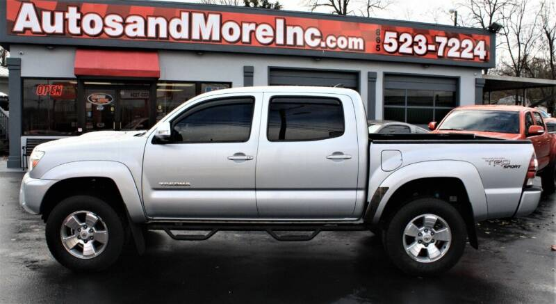 2012 Toyota Tacoma for sale at Autos and More Inc in Knoxville TN