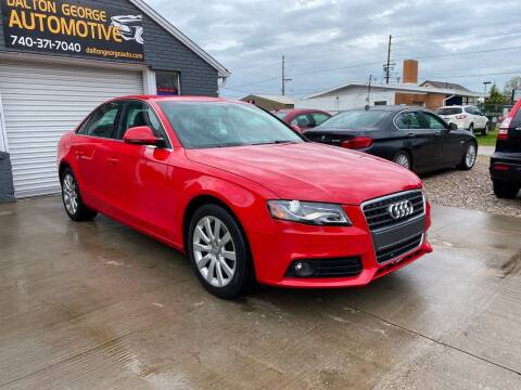 2009 Audi A4 for sale at Dalton George Automotive in Marietta OH