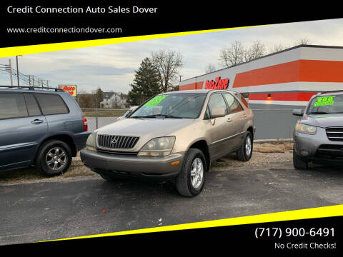 1999 Lexus RX 300 for sale at Credit Connection Auto Sales Dover in Dover PA