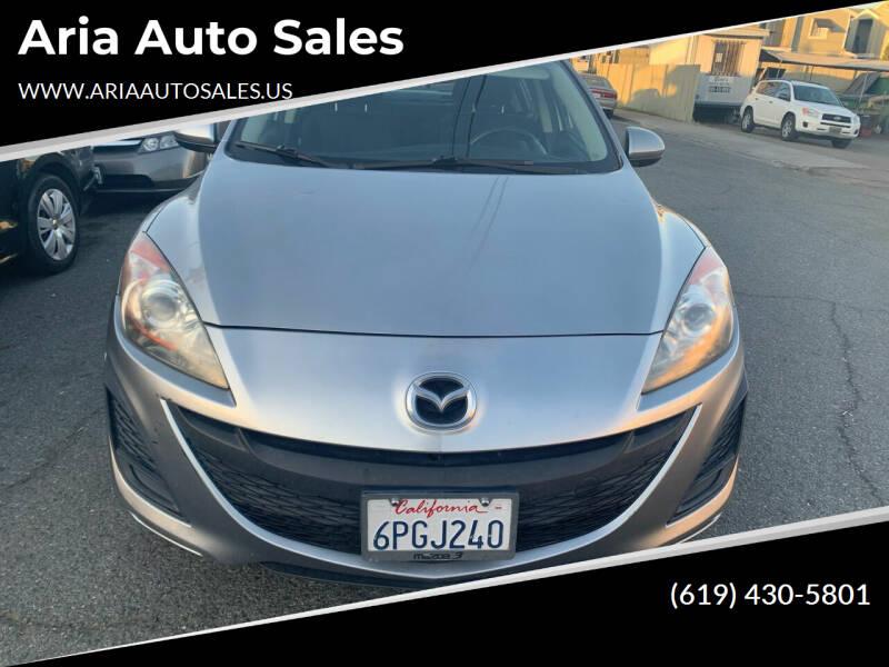 2011 Mazda MAZDA3 for sale at Aria Auto Sales in El Cajon CA