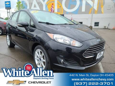 2016 Ford Fiesta for sale at WHITE-ALLEN CHEVROLET in Dayton OH
