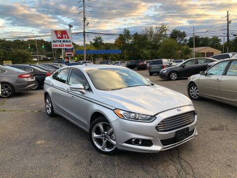 2013 Ford Fusion for sale at KB Auto Mall LLC in Akron OH