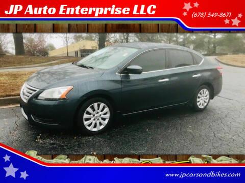 2013 Nissan Sentra for sale at JP Auto Enterprise LLC in Duluth GA