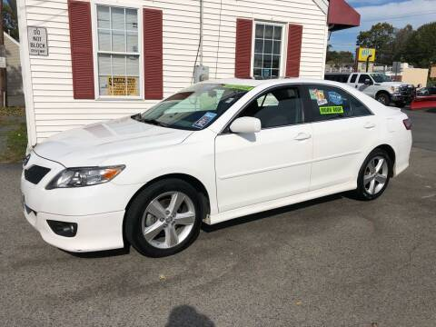 2010 Toyota Camry for sale at Crown Auto Sales in Abington MA