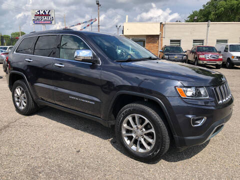 2016 Jeep Grand Cherokee for sale at SKY AUTO SALES in Detroit MI