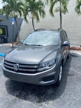 2016 Volkswagen Tiguan for sale at YOUR BEST DRIVE in Oakland Park FL