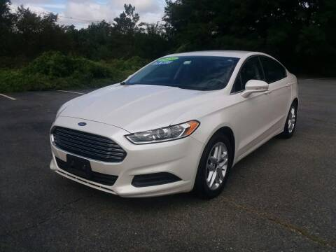 2014 Ford Fusion for sale at Westford Auto Sales in Westford MA