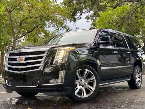 2016 Cadillac Escalade ESV for sale at HIGH PERFORMANCE MOTORS in Hollywood FL