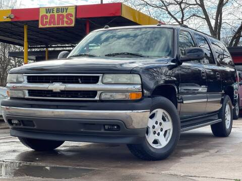 2005 Chevrolet Suburban for sale at Texas Select Autos LLC in Mckinney TX