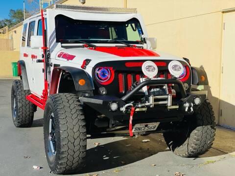 2016 Jeep Wrangler Unlimited for sale at Auto Zoom 916 in Rancho Cordova CA