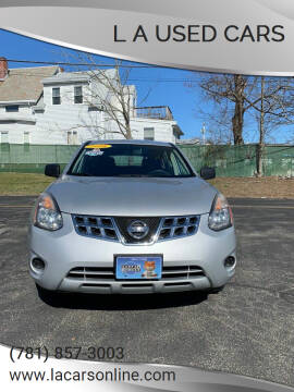 2014 Nissan Rogue Select for sale at L A Used Cars in Abington MA