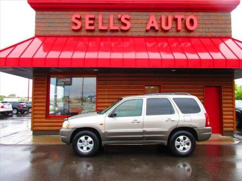 2001 Mazda Tribute for sale at Sells Auto INC in Saint Cloud MN