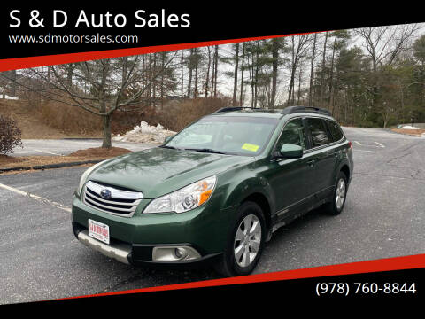 2011 Subaru Outback for sale at S & D Auto Sales in Maynard MA
