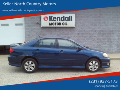 2005 Toyota Corolla for sale at Keller North Country Motors in Howard City MI