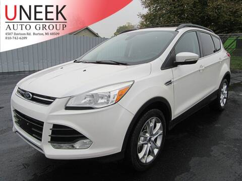 2013 Ford Escape for sale at Uneek Auto Group LLC in Burton MI