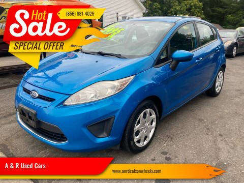 2012 Ford Fiesta for sale at A & R Used Cars in Clayton NJ