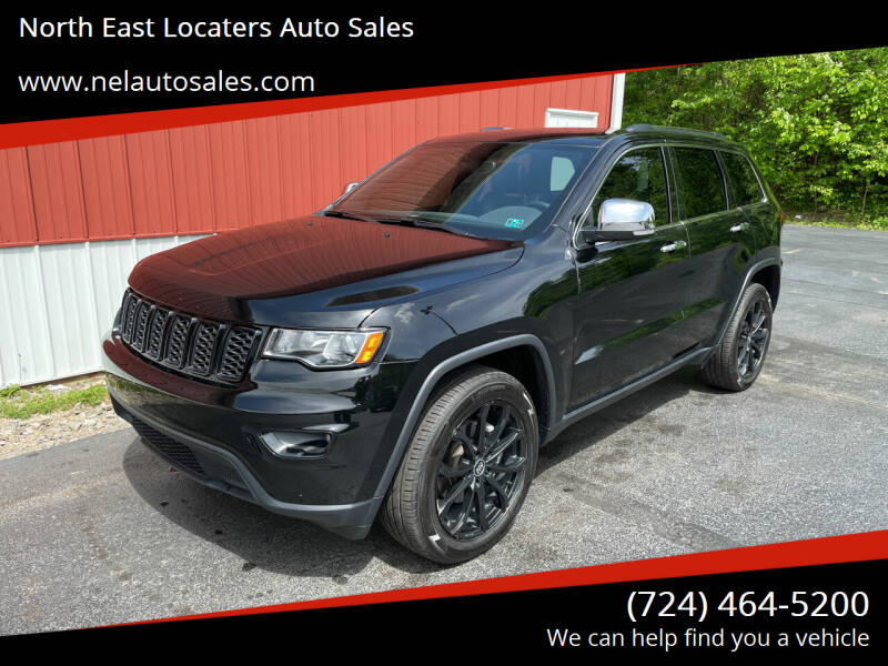 2020 Jeep Grand Cherokee for sale at North East Locaters Auto Sales in Indiana PA