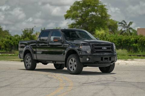 2013 Ford F-150 for sale at EURO STABLE in Miami FL