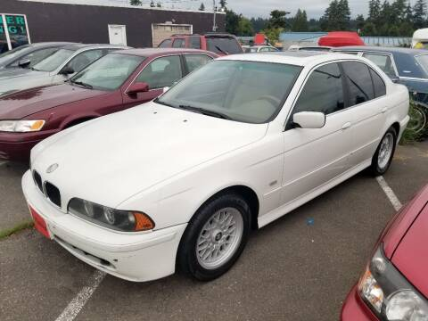 2000 BMW 5 Series for sale at SS MOTORS LLC in Edmonds WA
