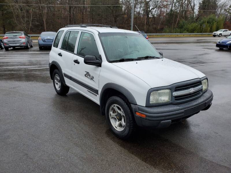 2001 Chevrolet Tracker for sale at DISCOUNT AUTO SALES in Johnson City TN
