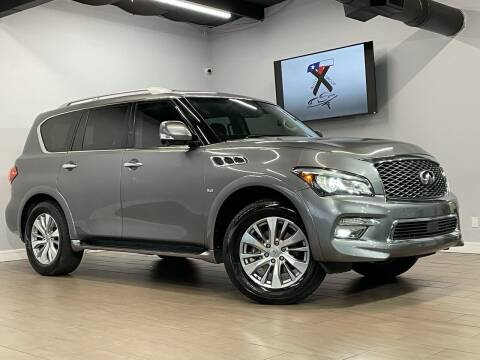 2017 Infiniti QX80 for sale at TX Auto Group in Houston TX