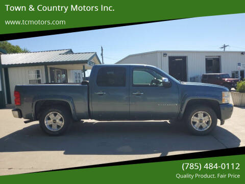 2009 Chevrolet Silverado 1500 for sale at Town & Country Motors Inc. in Meriden KS