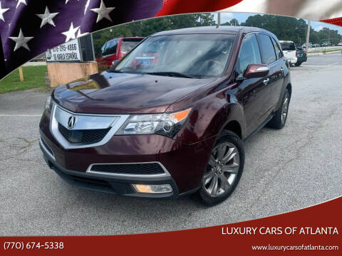 2010 Acura MDX for sale at Luxury Cars of Atlanta in Snellville GA