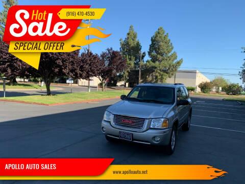 2007 GMC Envoy for sale at APOLLO AUTO SALES in Sacramento CA