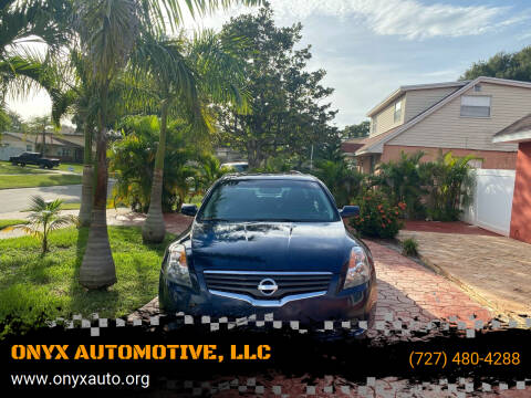 2009 Nissan Altima for sale at ONYX AUTOMOTIVE, LLC in Largo FL