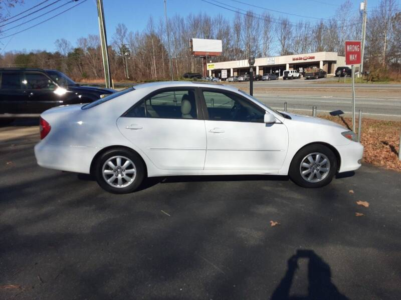 2004 Toyota Camry for sale at Catawba Valley Motors in Hickory NC