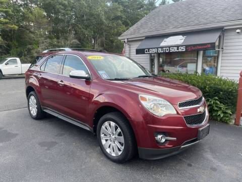 2010 Chevrolet Equinox for sale at Clear Auto Sales in Dartmouth MA
