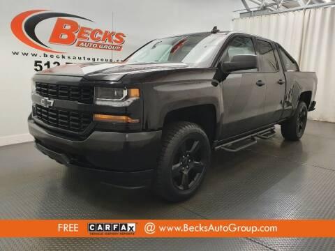2016 Chevrolet Silverado 1500 for sale at Becks Auto Group in Mason OH