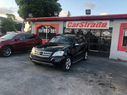 2010 Mercedes-Benz M-Class for sale at CARSTRADA in Hollywood FL