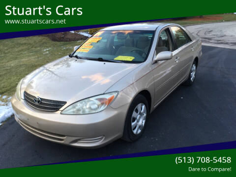 2004 Toyota Camry for sale at Stuart's Cars in Cincinnati OH