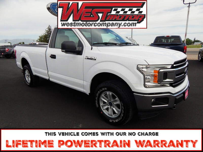 2019 Ford F-150 for sale at West Motor Company in Hyde Park UT