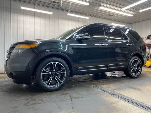 2014 Ford Explorer for sale at Ryans Auto Sales in Muncie IN