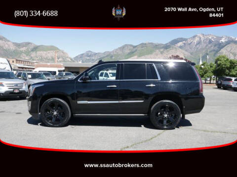 2017 Cadillac Escalade for sale at S S Auto Brokers in Ogden UT
