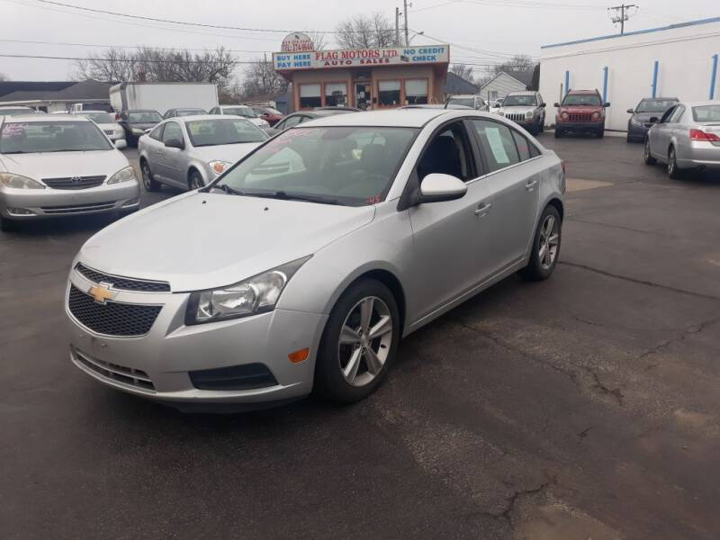 2013 Chevrolet Cruze for sale at Flag Motors in Columbus OH