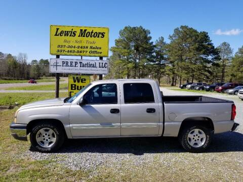 2005 Chevrolet Silverado 1500 for sale at Lewis Motors LLC in Deridder LA