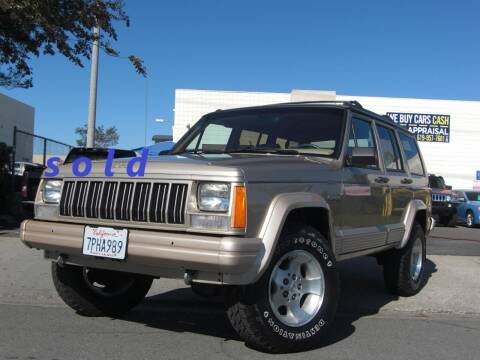 1994 Jeep Cherokee for sale at J'S MOTORS in San Diego CA