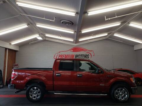 2014 Ford F-150 for sale at Premium Motors in Villa Park IL