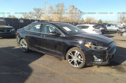2020 Ford Fusion for sale at STS Automotive in Denver CO