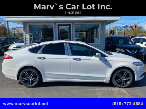 2013 Ford Fusion for sale at Marv`s Car Lot Inc. in Zeeland MI