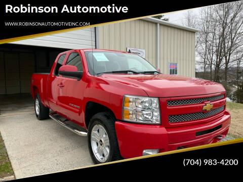2011 Chevrolet Silverado 1500 for sale at Robinson Automotive in Albemarle NC