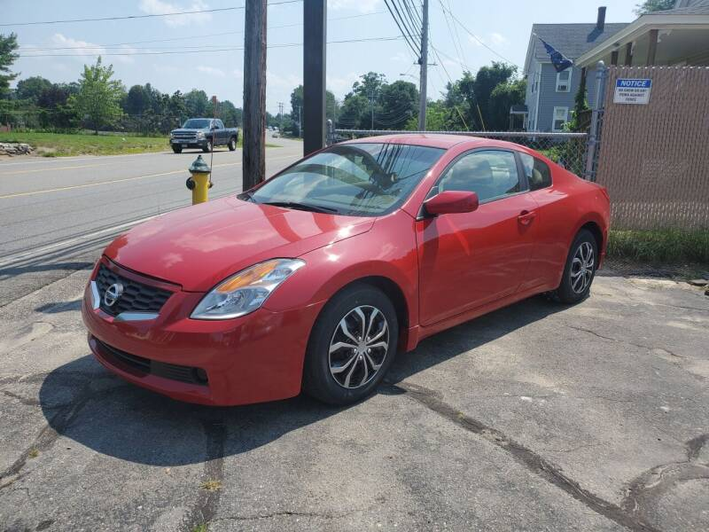 2008 Nissan Altima for sale at JR's Auto Connection in Hudson NH