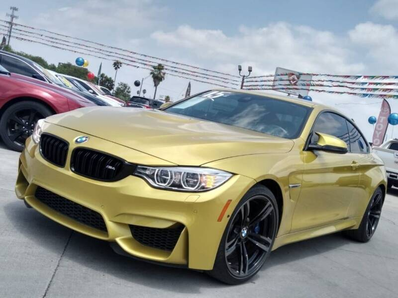 2015 BMW M4 for sale at A & V MOTORS in Hidalgo TX