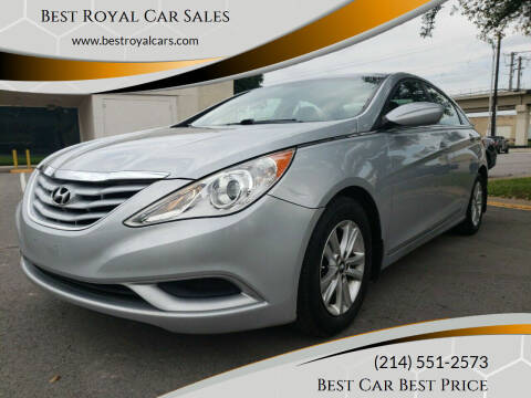 2011 Hyundai Sonata for sale at Best Royal Car Sales in Dallas TX