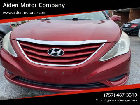 2011 Hyundai Sonata for sale at Aiden Motor Company in Portsmouth VA