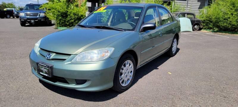 2004 Honda Civic for sale at Persian Motors in Cornelius OR