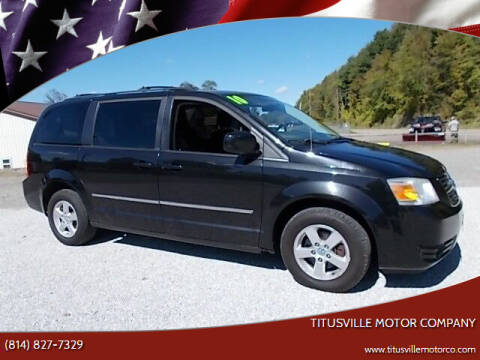 2010 Dodge Grand Caravan for sale at Titusville Motor Company in Titusville PA